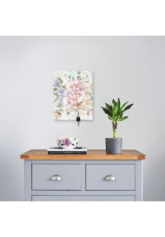 Artland Schlüsselbrett »Blumen mit nahtlosem Muster« kaufen