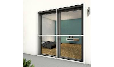 hecht international Insektenschutz-Tür »COMFORT«, weiß/anthrazit, BxH: 240x240 cm kaufen