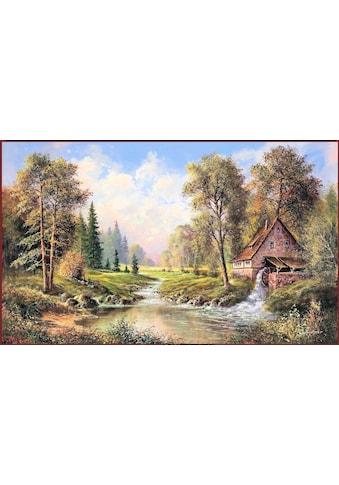 Home affaire Wandbild »H.BUCHNER / Alte Mühle«, 108/68 cm kaufen