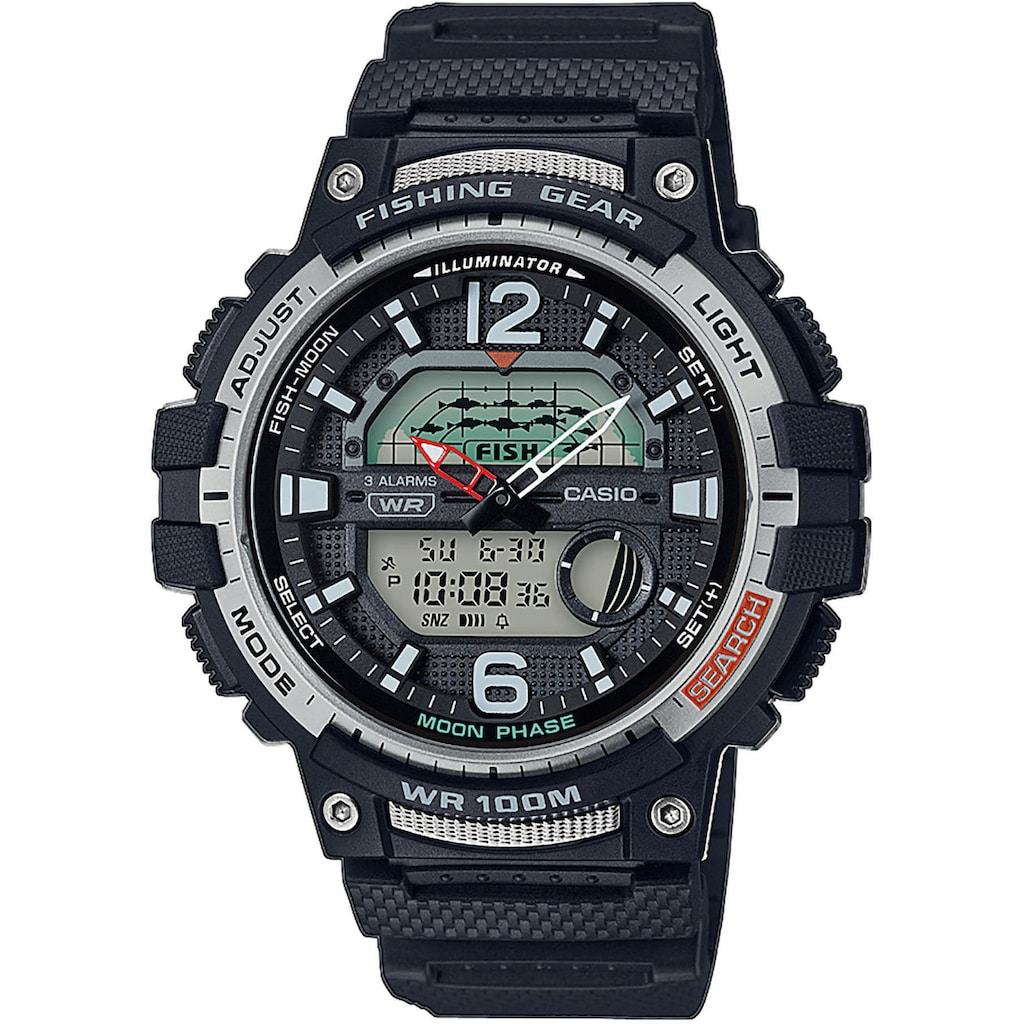 Casio Collection Chronograph »WSC-1250H-1AVEF«