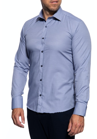 Dust Langarmhemd, mit feinem Karomuster kaufen