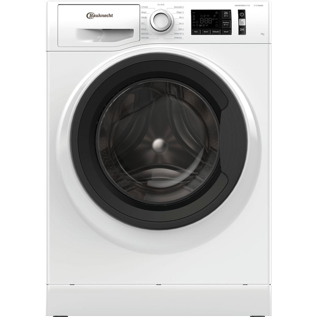 BAUKNECHT Waschmaschine »W Active 712C«, W Active 712C, 4 Jahre Herstellergarantie