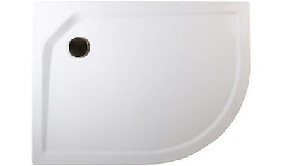Schulte Duschwanne »extra - flach«, rund, BxT: 75 x 90 cm kaufen