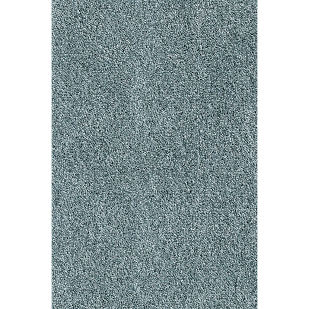 Andiamo Teppichboden »Levin blau«, rechteckig, 10 mm Höhe, Meterware, Breite 500 cm, uni, schallschluckend