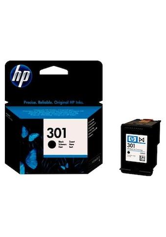 HP Tintenpatrone »hp NR.301, original, CH561EE, SCHWARZ« kaufen