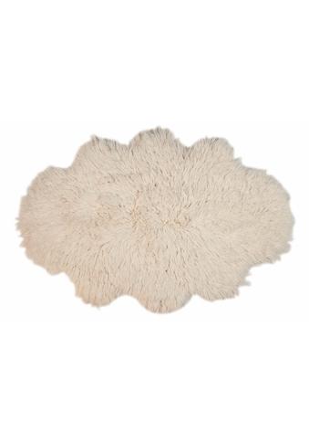 Theko Exklusiv Wollteppich »Flokos 2«, wolkenförmig, 62 mm Höhe, reine Wolle,... kaufen