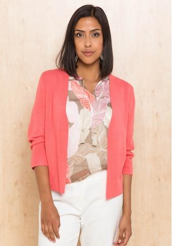 bianca Strickjacke »VALENTE«, in aktueller Trendfarbe mit femininen Details kaufen