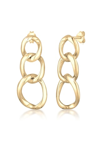 Elli Paar Ohrhänger »Ohrhänger Basic Blogger Chain Look 925 Silber« kaufen