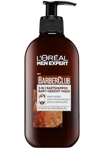L'ORÉAL PARIS MEN EXPERT Bartshampoo »Barber Club«, beseitigt Bartschuppen & jegliche... kaufen