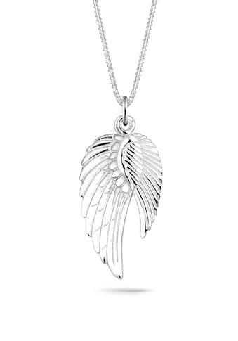 Elli Collierkettchen »Doppelt Flügel Schutzengel 925 Silber« kaufen