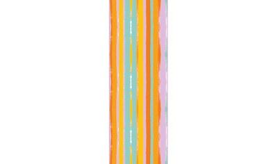 queence Vinyltapete »Streifen-Bunt«, Streifen, 90 x 250 cm, selbstklebend kaufen