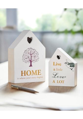 andas Dekoobjekt »Häuser« (2er - Set) kaufen