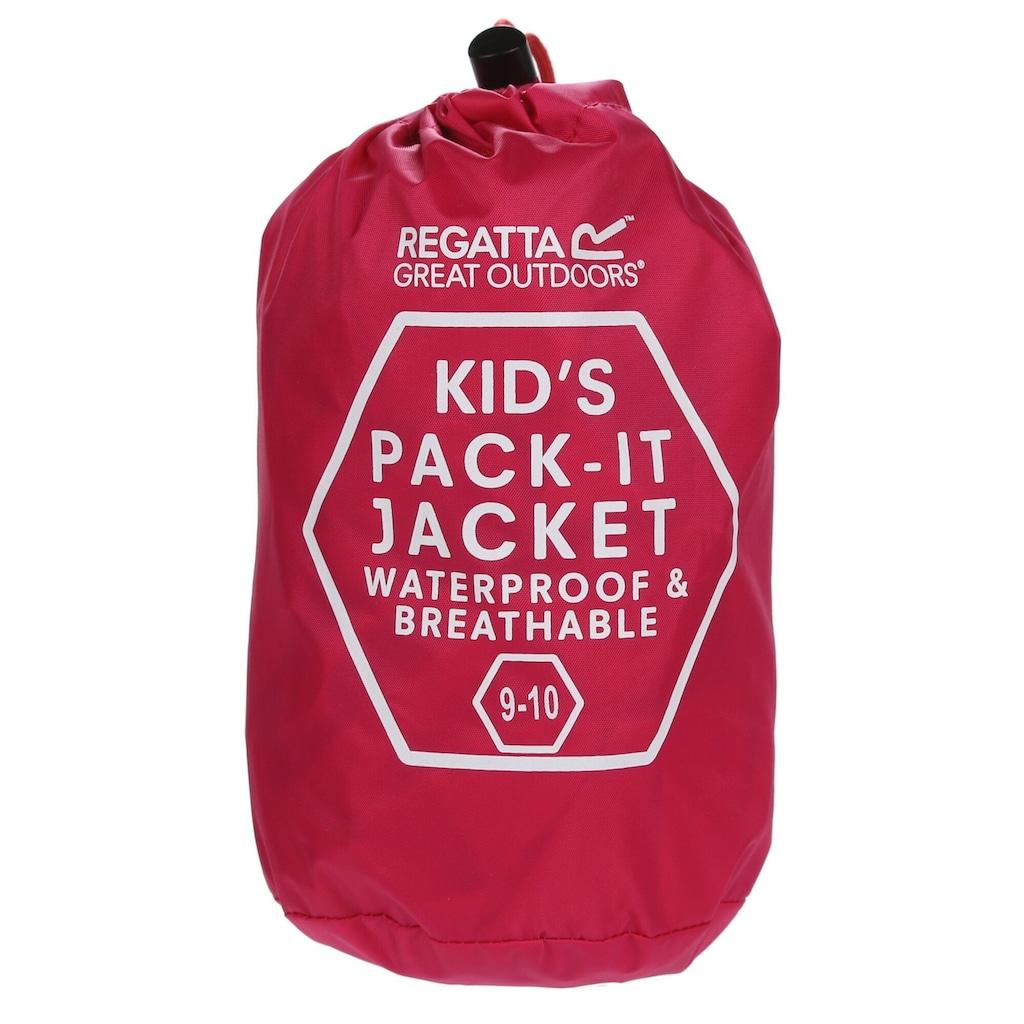 Regatta Regenjacke »Great Outdoors Kinder Pack It Jacke III, wasserfest«