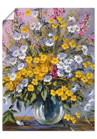 Artland Wandbild »Gemischter Strauß«, Blumen, (1 St.), in vielen Größen & Produktarten... kaufen