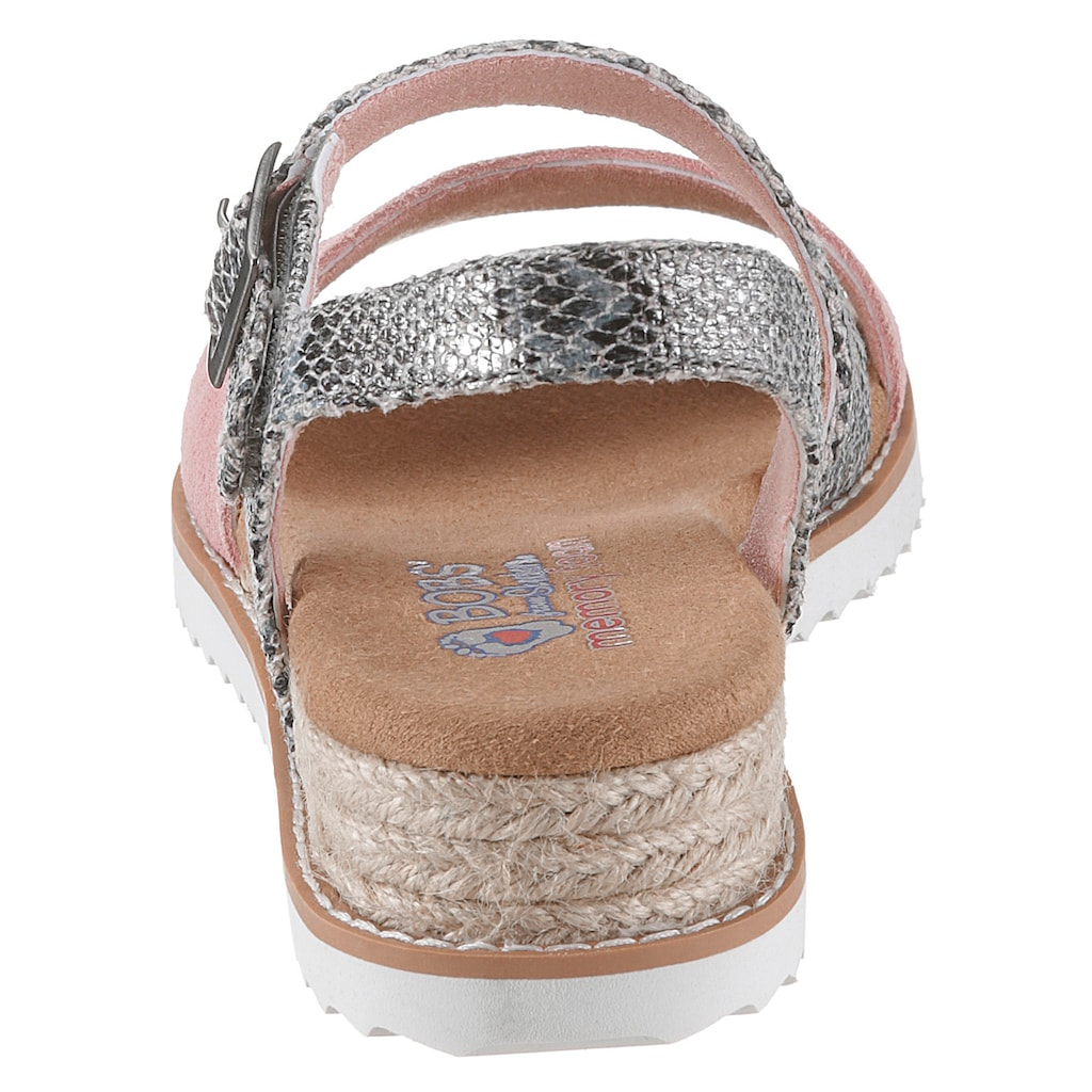 Skechers Sandale »Desert Kiss - Cactus Rose«, mit Schlangenprägung