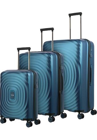 "TITAN® Trolleyset ""Looping, Petrol"", 4 Rollen, (Set, 3tlg.) kaufen"