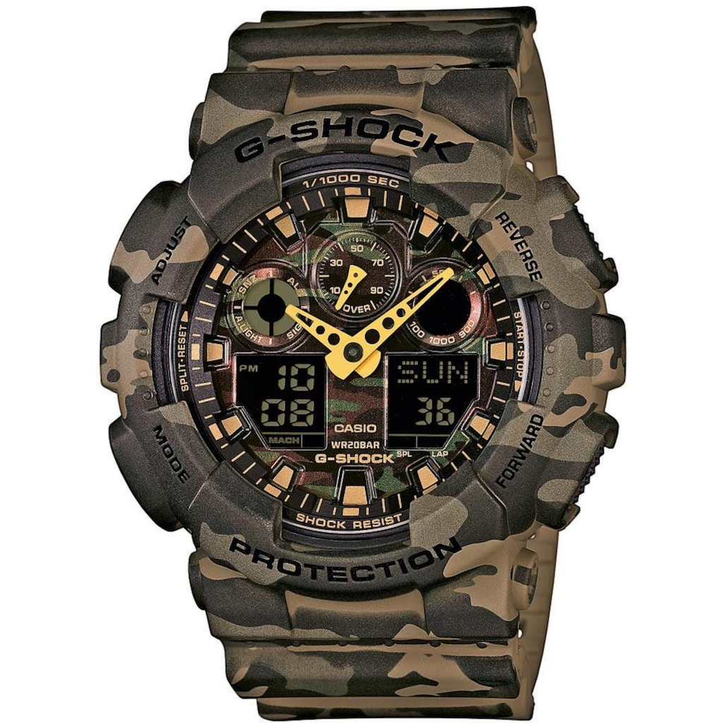 CASIO G-SHOCK Chronograph »GA-100CM-5AER«