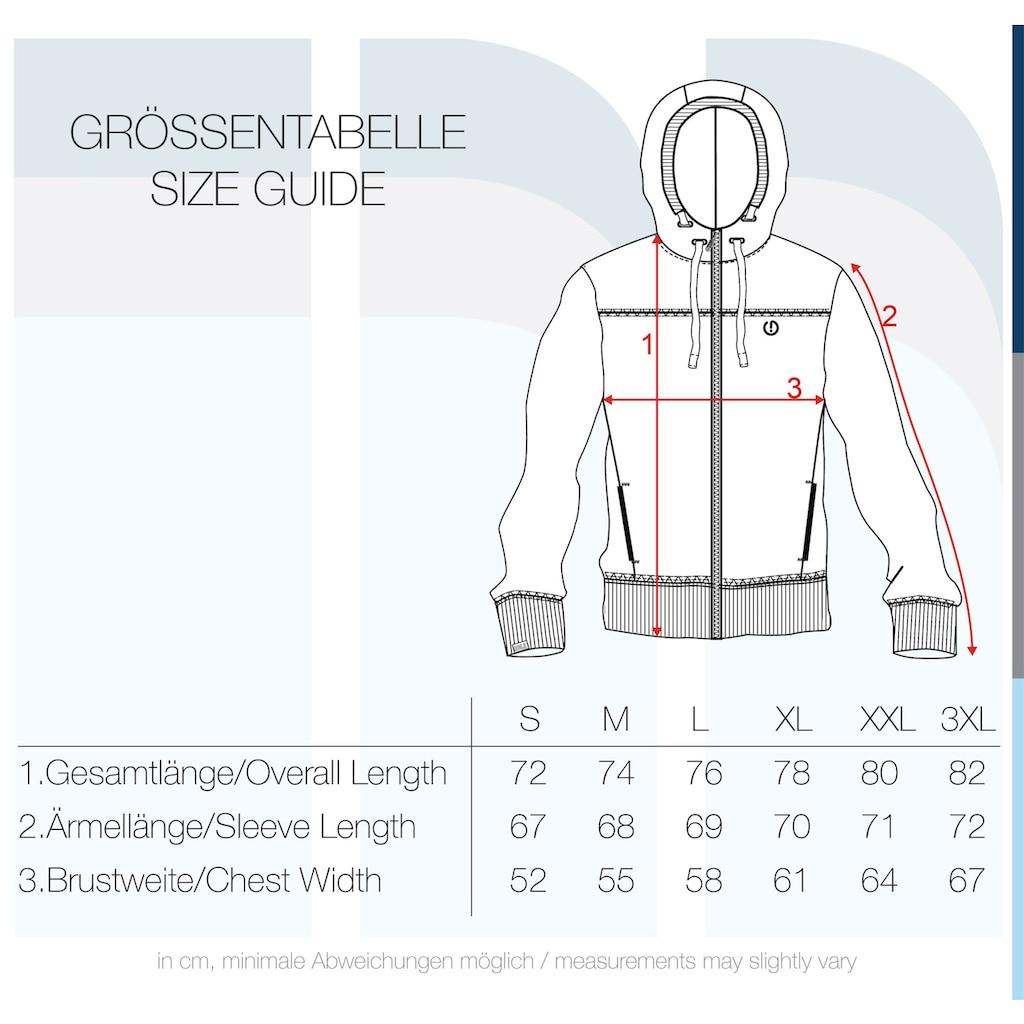 Solid Kapuzensweatjacke »BenjaminZip«, Sweatshirtjacke mit weicher Fleece Innenseite