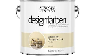SCHÖNER WOHNEN-Kollektion Wand- und Deckenfarbe »Designfarben«, belebendes... kaufen