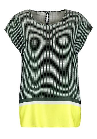 GERRY WEBER Bluse ohne Arm »Blusentop mit Mustermix« kaufen