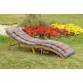 MERXX Gartenliege »La Pelosa«, mit Kissen, klappbar