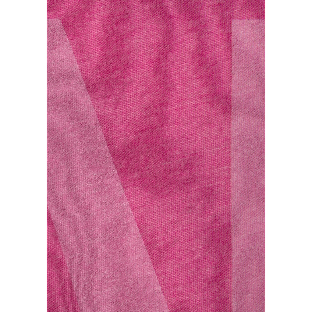 Elbsand Langarmshirt »Niola«, mit großem Frontprint