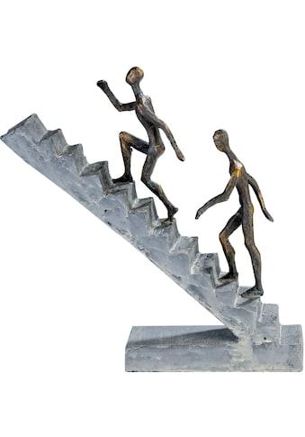 Casablanca by Gilde Dekofigur »Skulptur Staircase«, Dekoobjekt, Höhe 28 cm, mit... kaufen