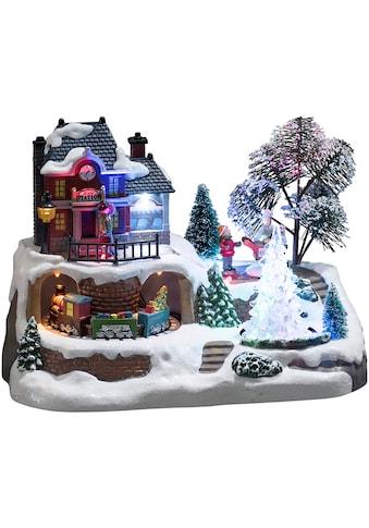 KONSTSMIDE Weihnachtshaus »Bahnhof« kaufen