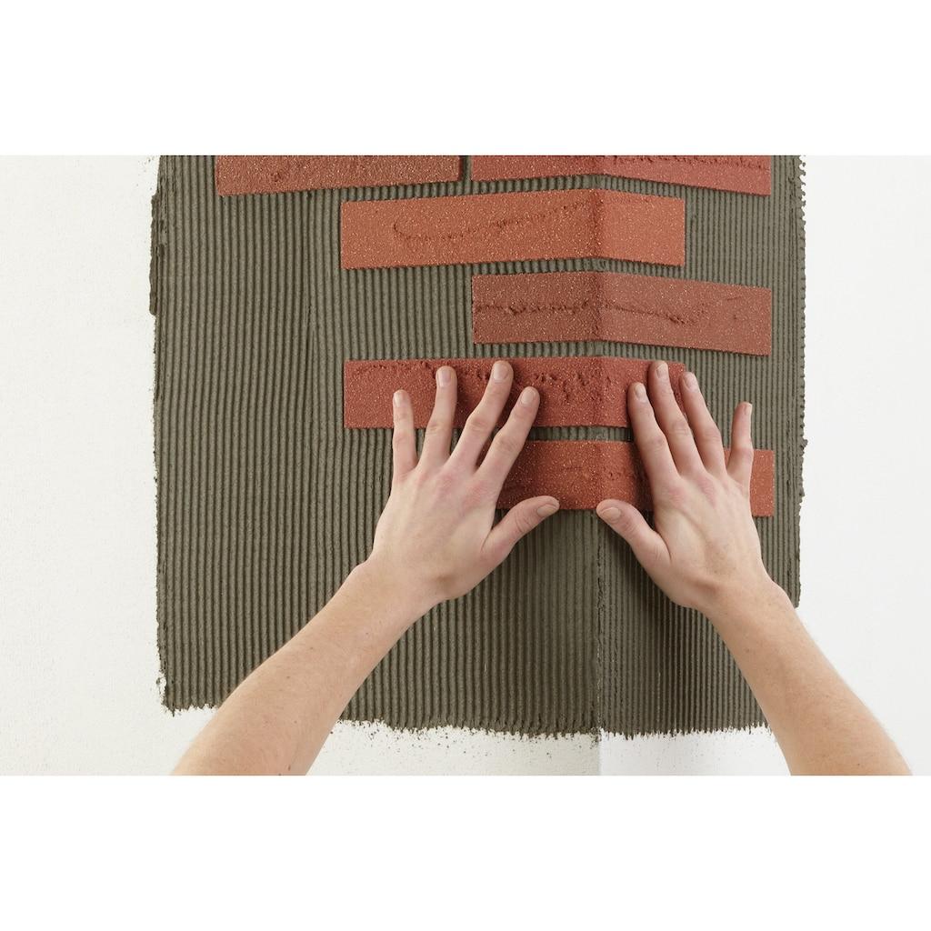 ELASTOLITH Verblender »Colorado«, rot, für Außen- und Innenbereich, 5 m²