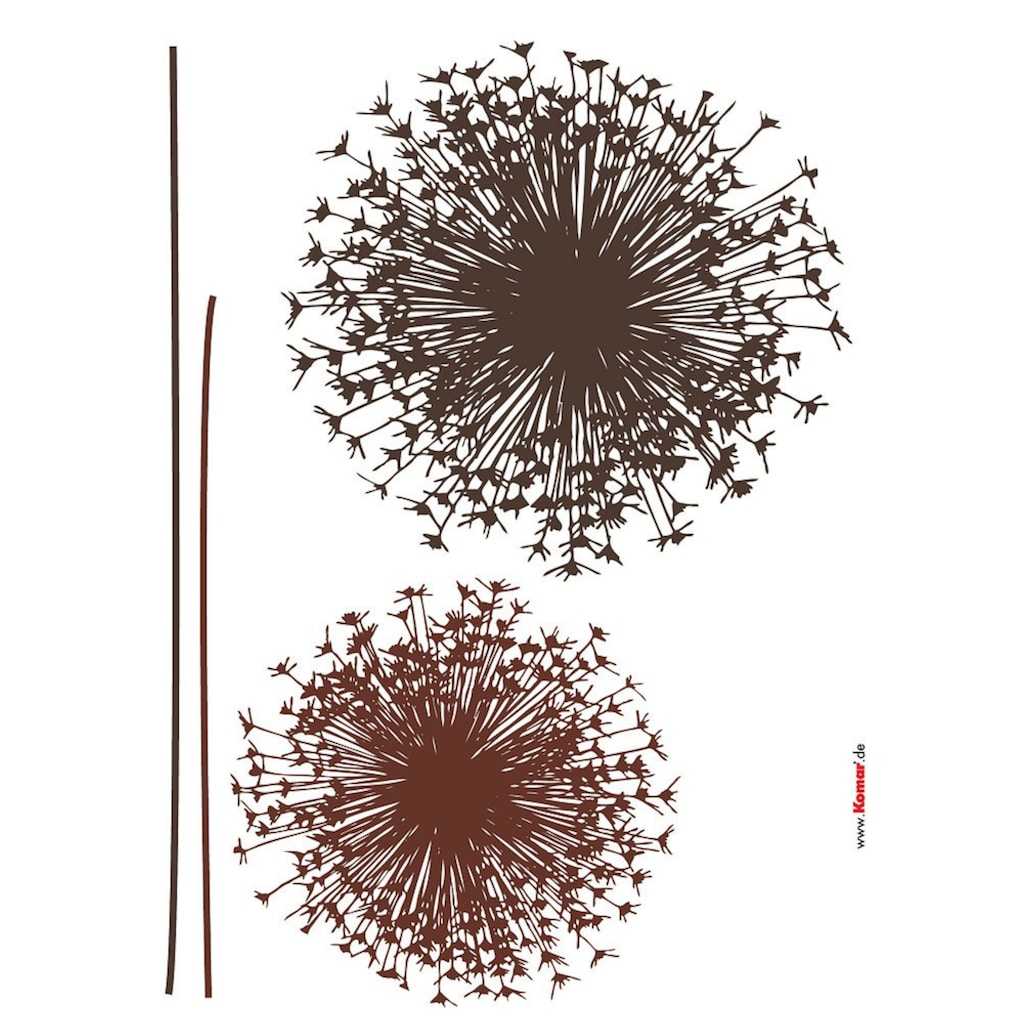 Komar Wandtattoo »Pusteblume«, selbstklebend, rückstandslos abziehbar
