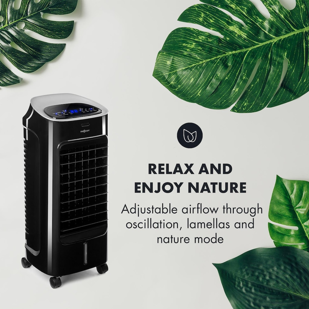 ONECONCEPT Coolster Luftkühler Ventilator Ionisator 65W 320m³/h