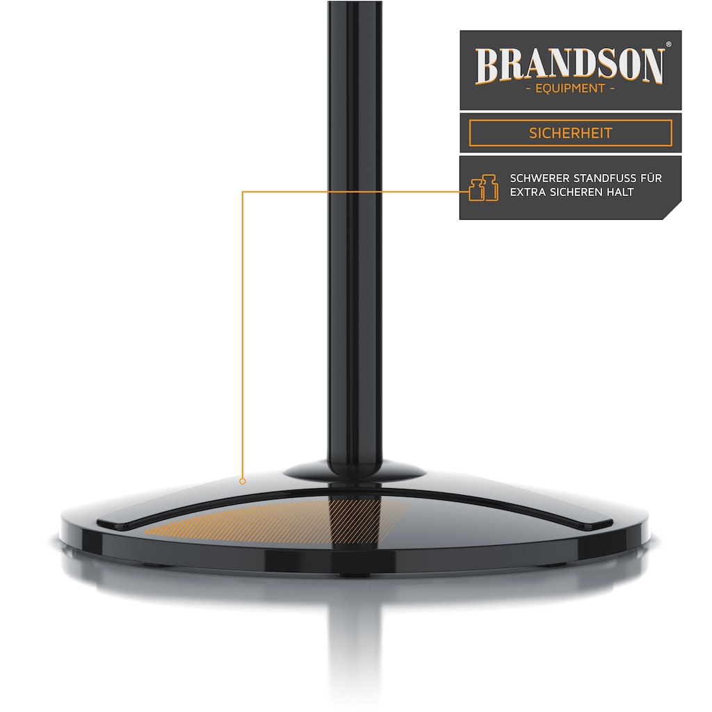 Brandson Standventilator mit Fernbedienung & Display