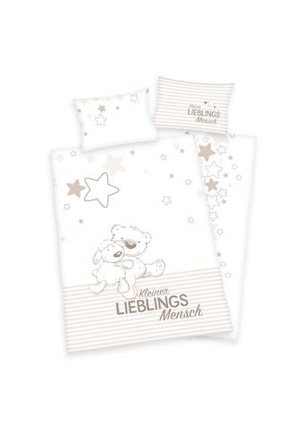 Babybettwäsche »Kleiner Lieblingsmensch«, Herding kaufen
