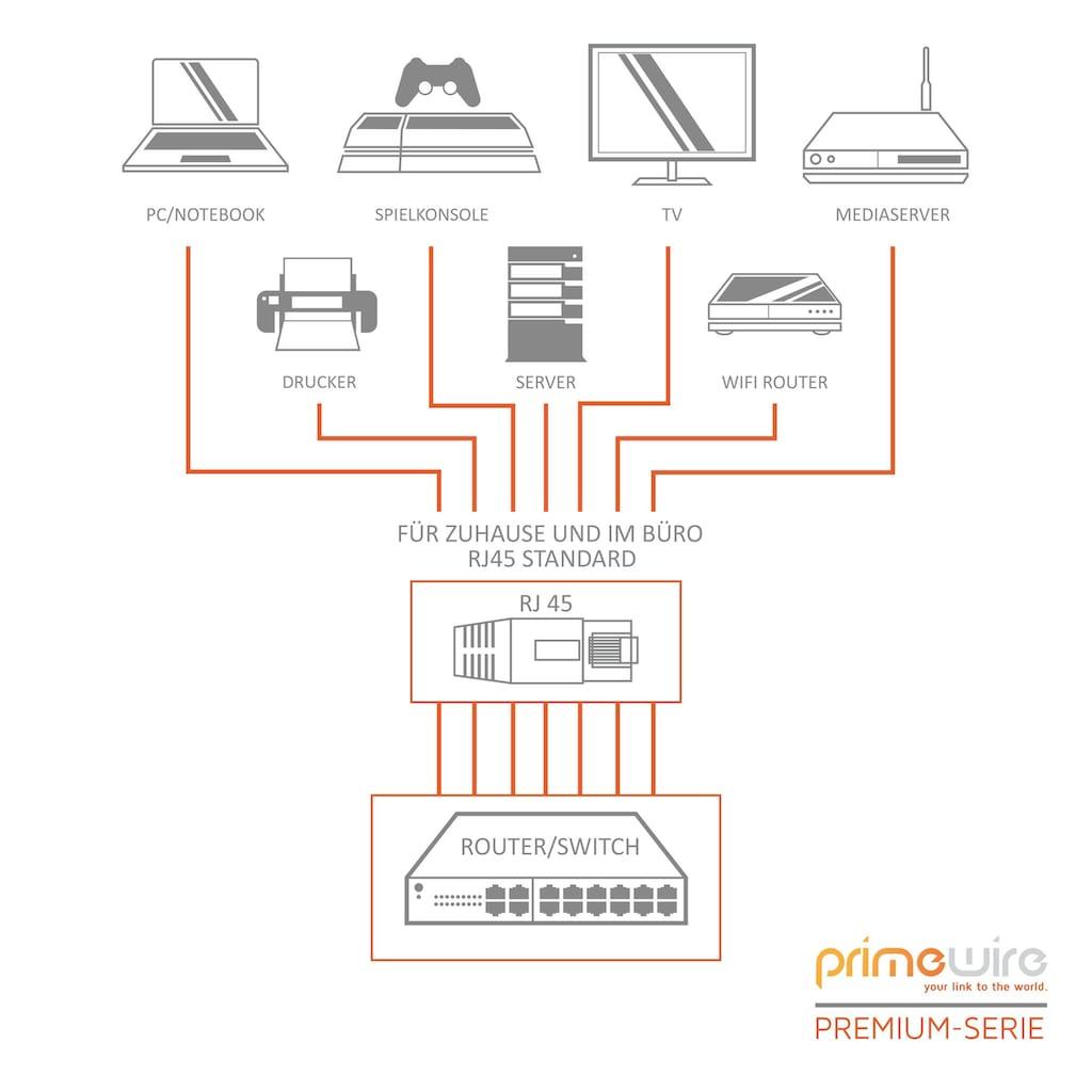 Primewire Flachband Netzwerkkabel