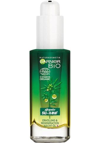 GARNIER Gesichtsöl »Bio-Hanf Erholung & Regeneration Nacht-Öl«, Naturkosmetik kaufen
