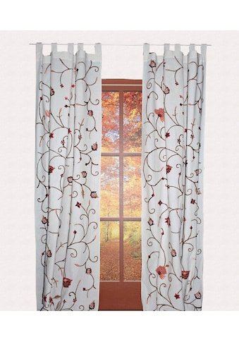 Vorhang, »Grundlsee«, HOSSNER  -  ART OF HOME DECO, Schlaufen 1 Stück kaufen