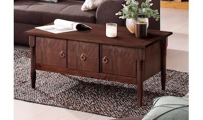 Home affaire Couchtisch »Indra«, mit 2 Holztüren und 1 Schublade und in 3 Farben kaufen