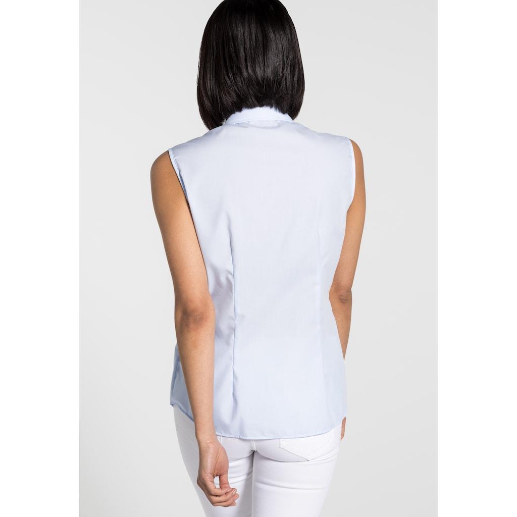 Eterna Hemdbluse »MODERN CLASSIC«, ohne Arm