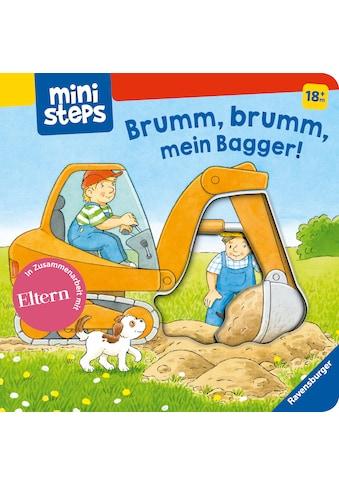Buch »Brumm, brumm, mein Bagger! / Sandra Grimm, Klaus Bliesener« kaufen