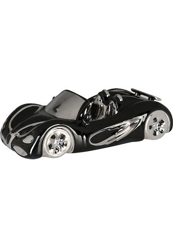 GILDE Dekoobjekt »Cabrio, schwarz/silberfarben«, aus Keramik, Wohnzimmer kaufen