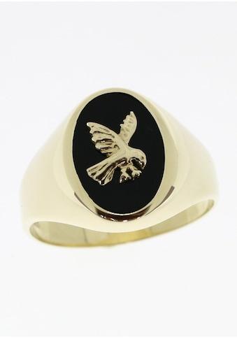 Firetti Siegelring »Adler«, mit Onyx kaufen