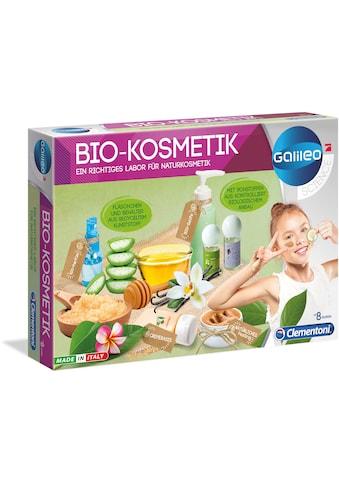 Clementoni® Experimentierkasten »Galileo - Bio-Kosmetik«, Made in Europe kaufen