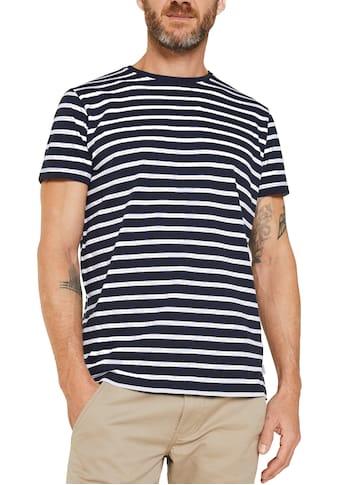 Esprit T-Shirt, Im maritimen Streifenlook kaufen
