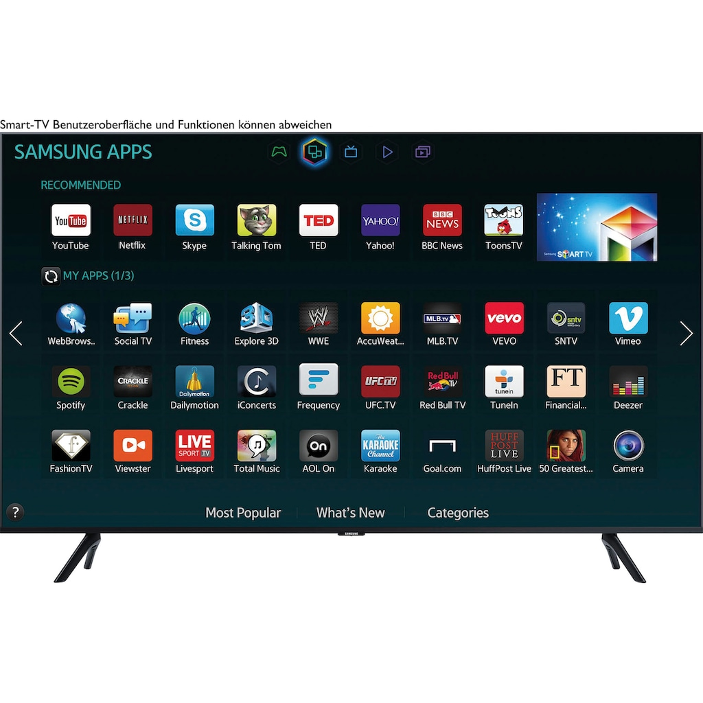 "Samsung LED-Fernseher »GU55TU8079«, 138 cm/55 "", 4K Ultra HD, Smart-TV"