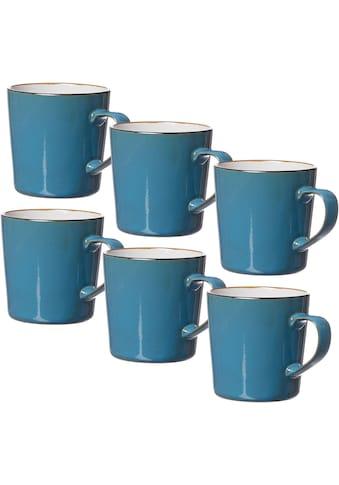 Ritzenhoff & Breker Becher »Kaffeebecher-Set Visby 6tlg, Weiß«, (Set, 6 tlg., Das Set... kaufen