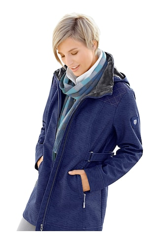Casual Looks Softshelljacke mit kuscheligem Fleece kaufen