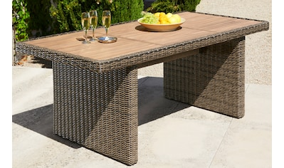 MERXX Gartentisch »Toskana«, Akazienholz, 185x90 cm, natur kaufen