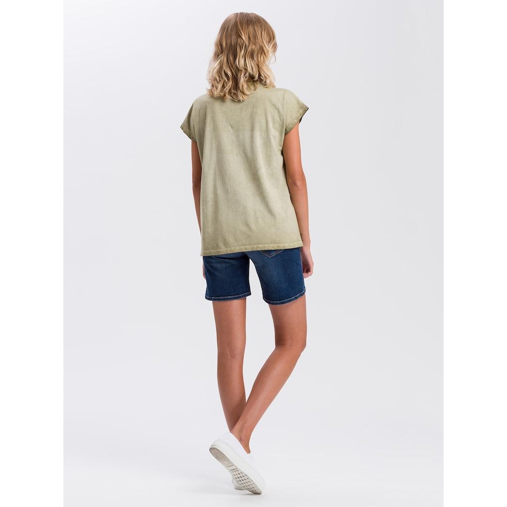Cross Jeans® T-Shirt »55724«, Legeres Sommershirt