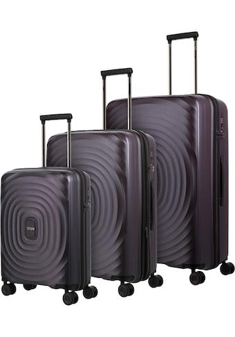 "TITAN® Trolleyset ""Looping, Purple"", 4 Rollen, (Set, 3tlg.) kaufen"
