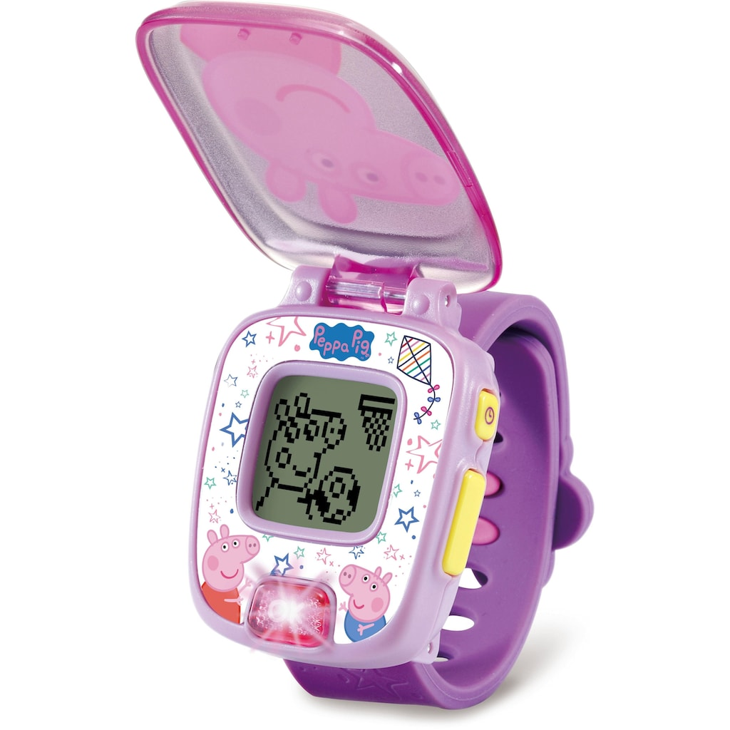 Vtech® Lernspielzeug »Peppas Lernuhr pink«